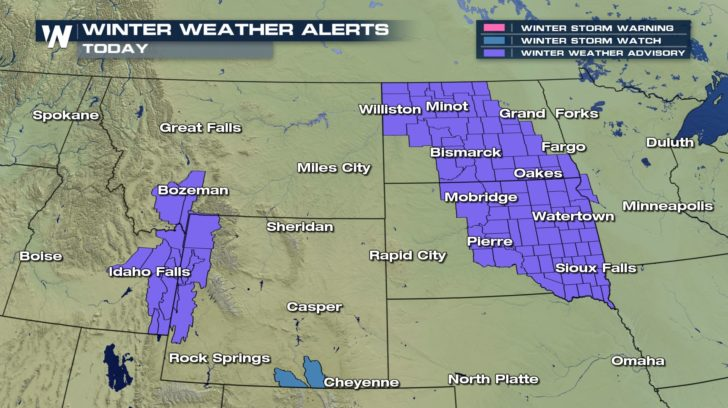 Snow Comes Sweeping Down the Plains - WeatherNation