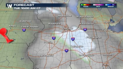 Snow on Christmas Morning? Here Are The Most Likely Areas