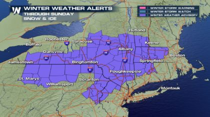 Northeast Getting Another Dose of Winter