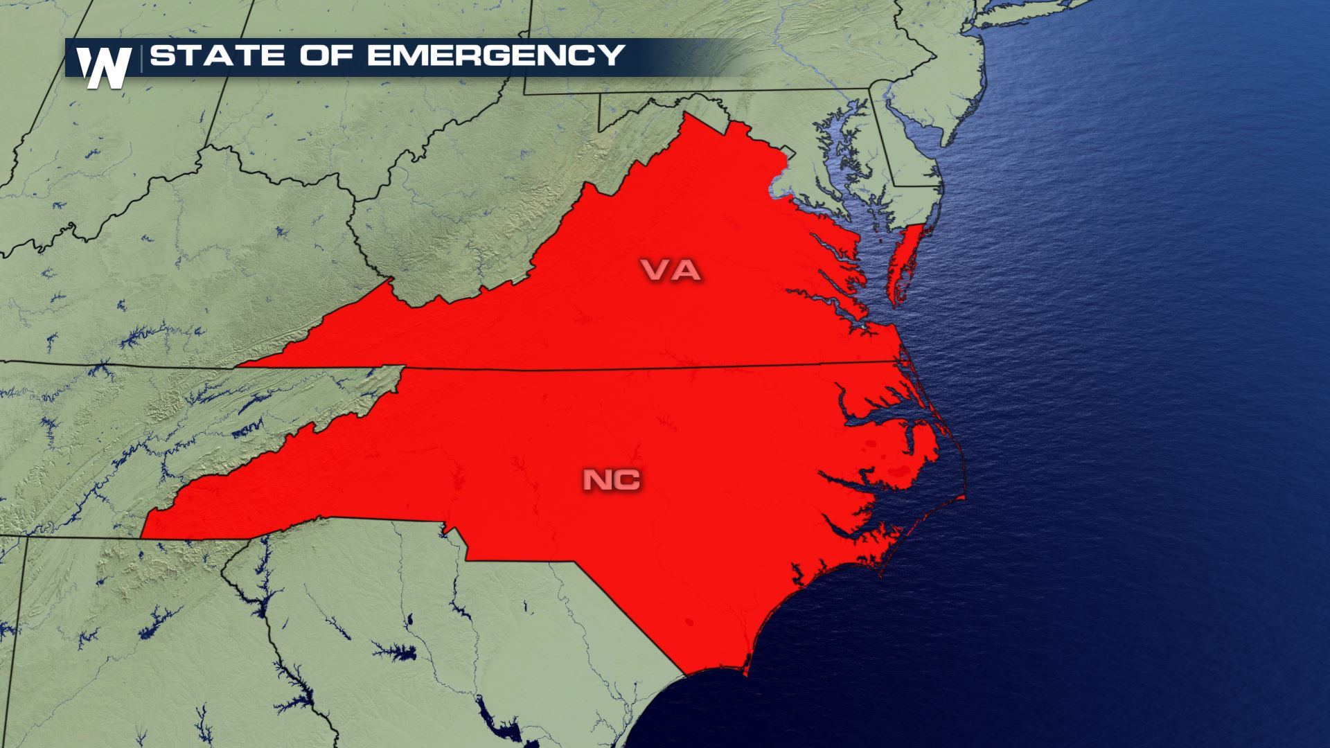 Governor Northam Issues State of Emergency for Virginia