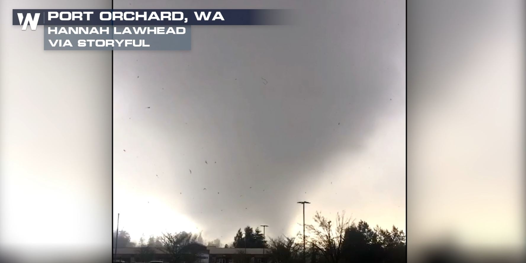 Port Orchard Tornado an EF-2