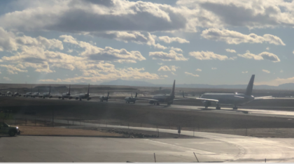 Winds Cause Delays, Accident at Denver Airport