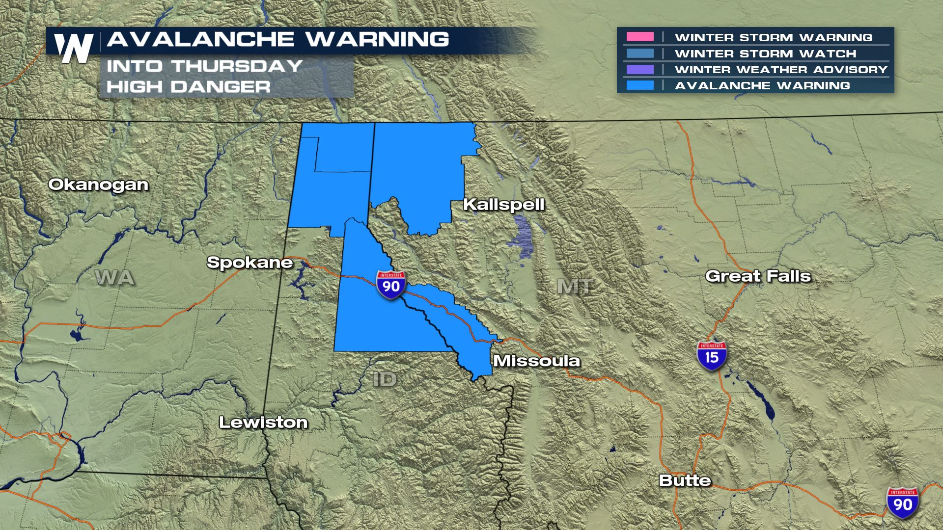 Avalanche Warnings Continue in Parts of the West