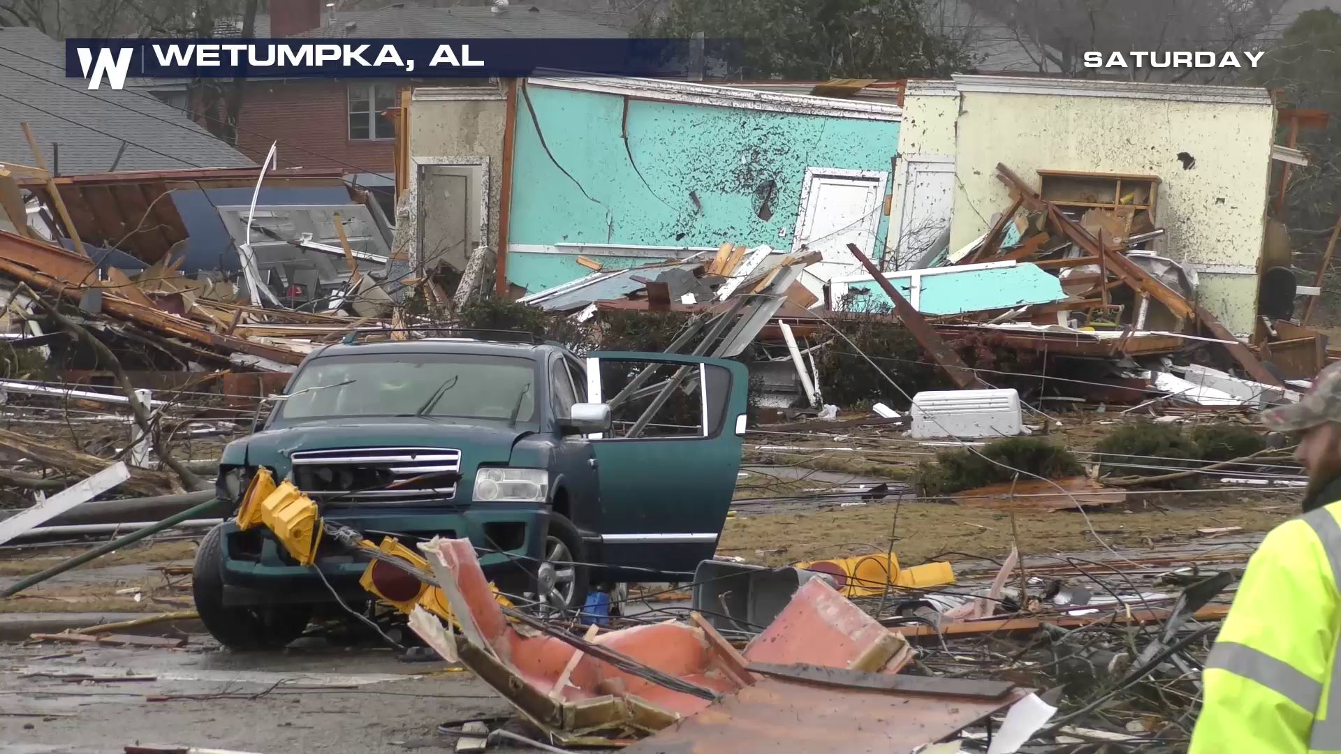 Four Injured In Wetumpka, AL Tornado