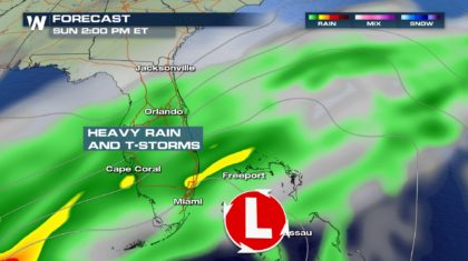 Wet Weekend Ahead in Florida