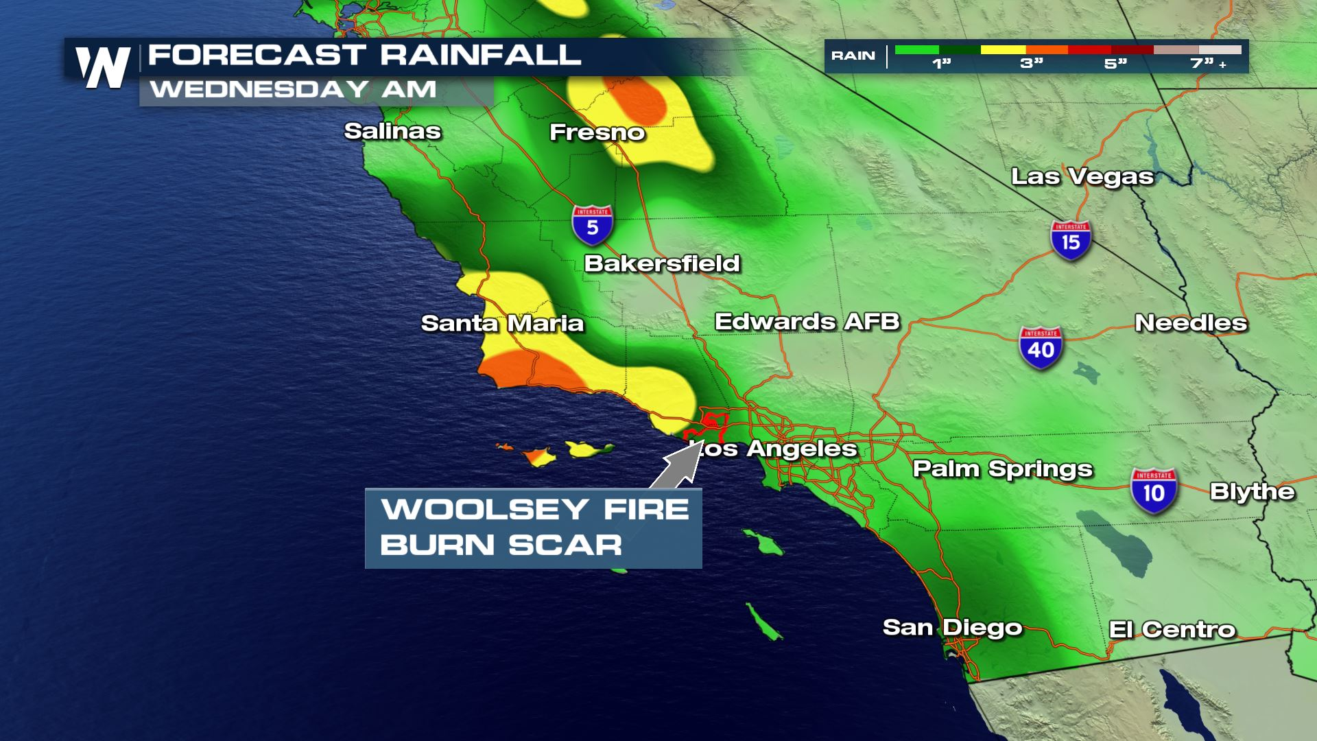 More Flooding, Debris Flows Possible in California - WeatherNation