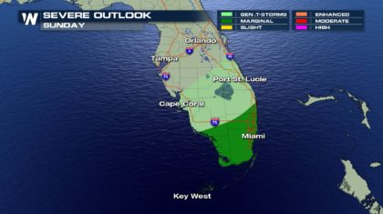 South Florida Severe Threat