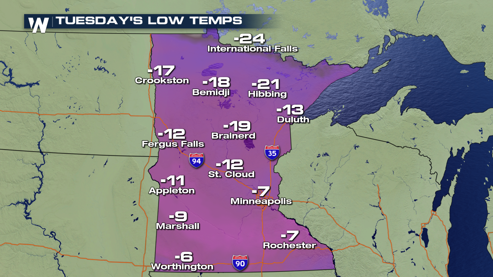 Snow and Brutal Cold Across the High Plains