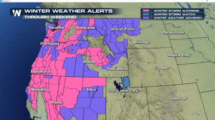 Powerful Winter Storm Impacting Pacific Northwest