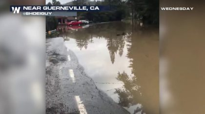 Major Flooding Swamps Northern California