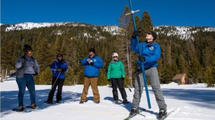 Recent Snows Boost Sierra Snowpack Above Normal
