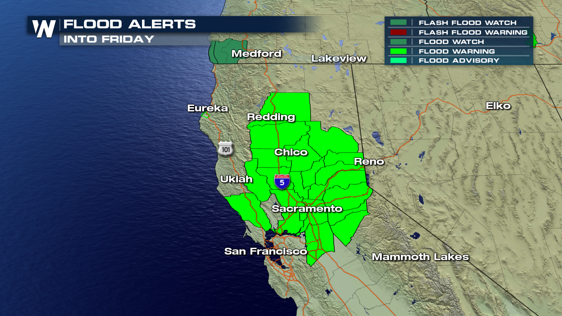 Map Of California Flooding.California Rain Generates Flooding Weathernation