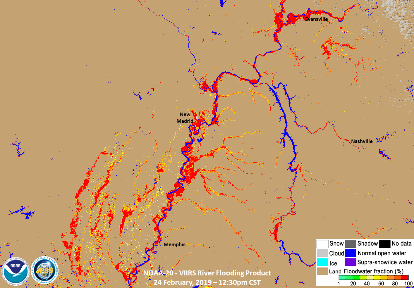 Map Of Southeast Canada.Satellite Images Show Major Flooding Along Rivers In The Southeast