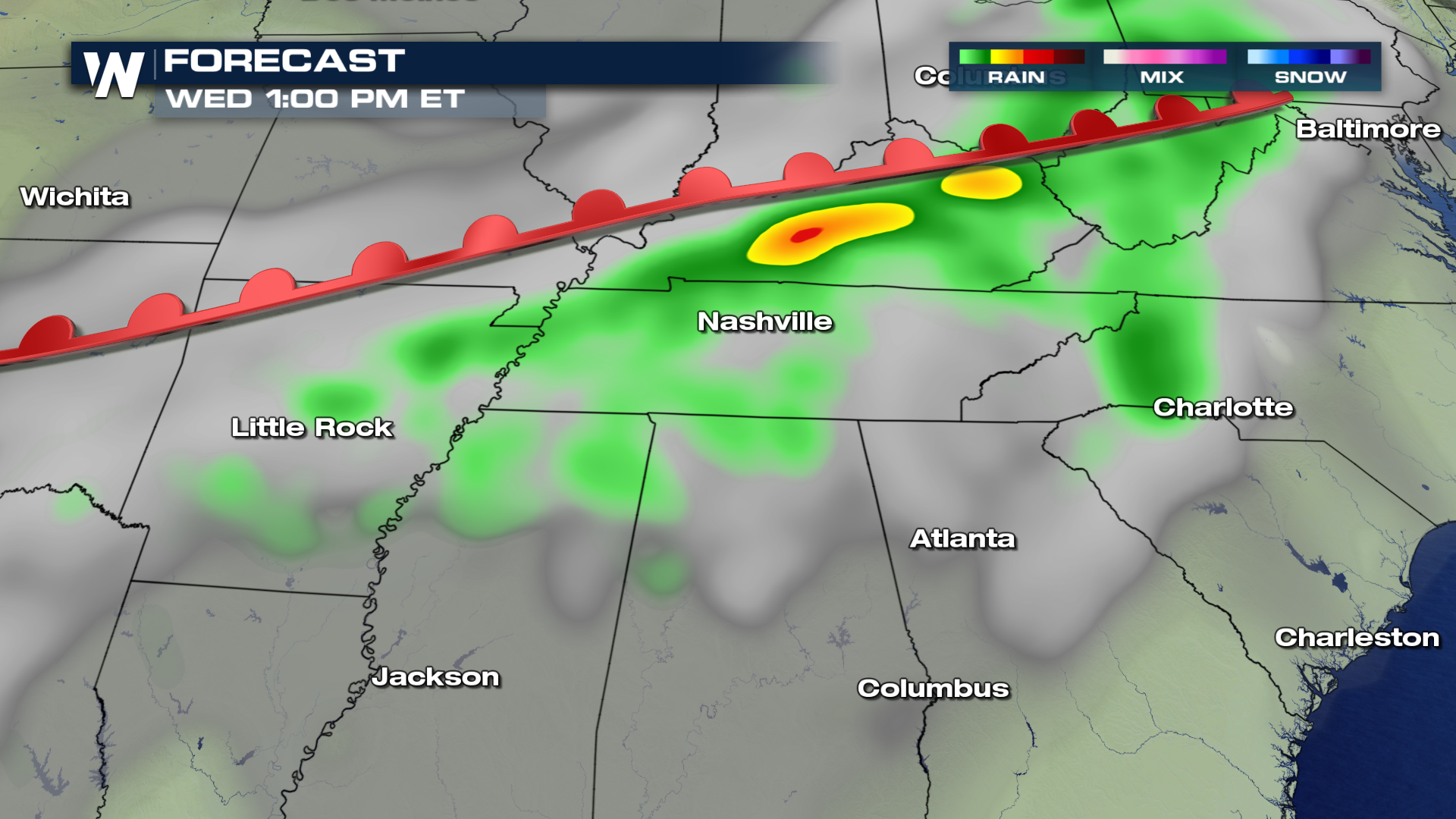 Slight Chance For Severe Weather Today - WeatherNation