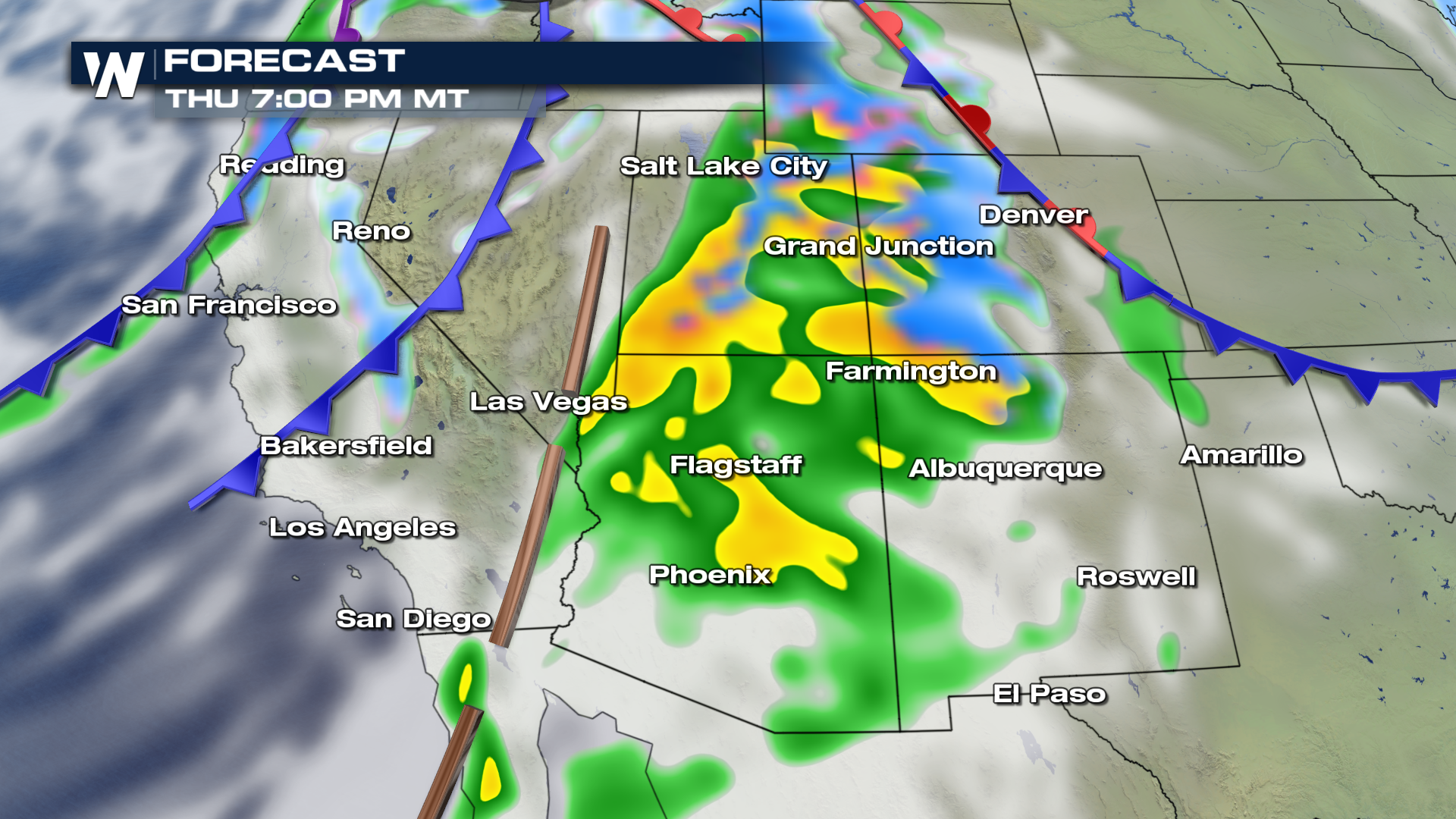 Snow Rain Continues For West Coast Weathernation