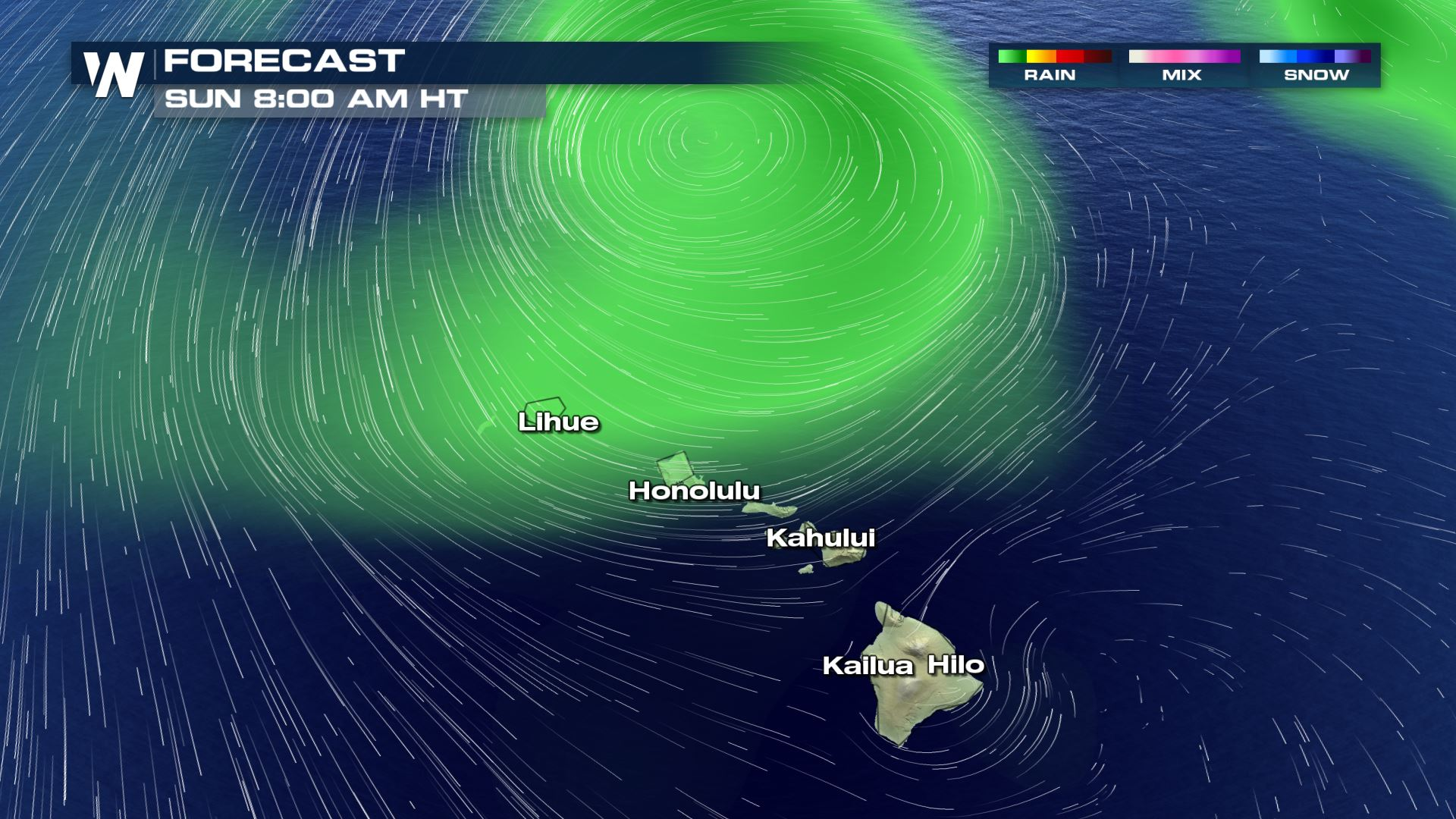 VIDEO: Powerful Storm Nears Hawaii With Damaging Wind