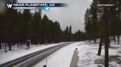 Heavy Snow On The Way For Parts of Arizona