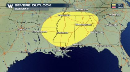 Severe Threat Returns This Weekend