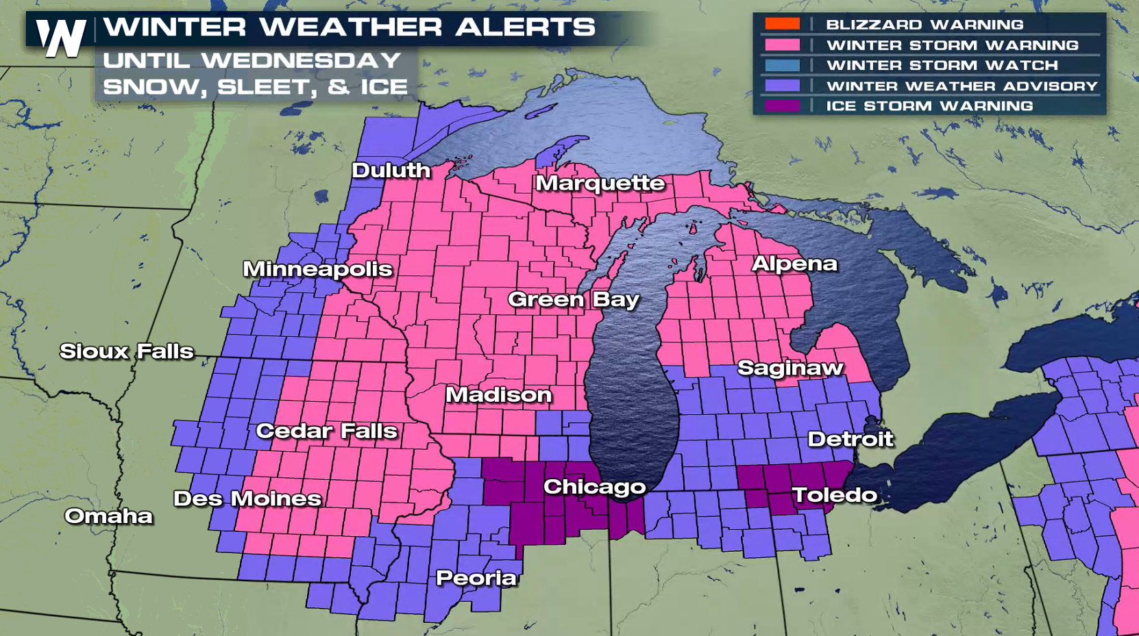 Winter Storm Warning Bring It On Says >> Another Storm To Impact The Central U S With Snow And Ice