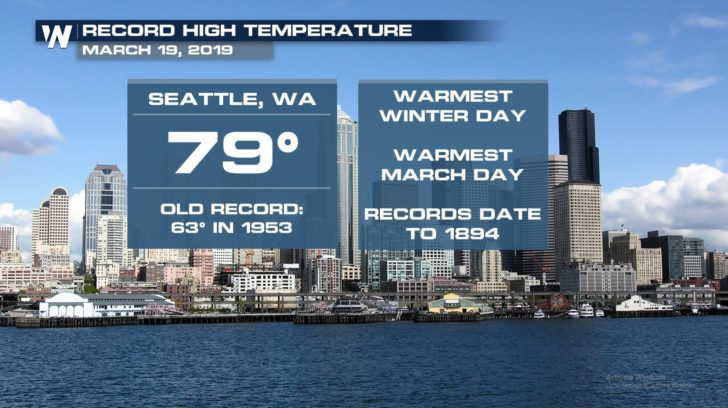 Seattle Soars into the 70s - WeatherNation