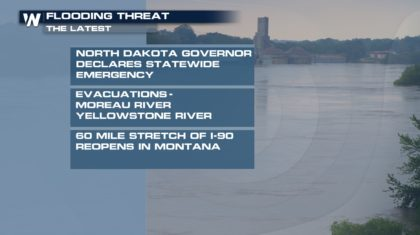 Flood Emergency Declared in North Dakota