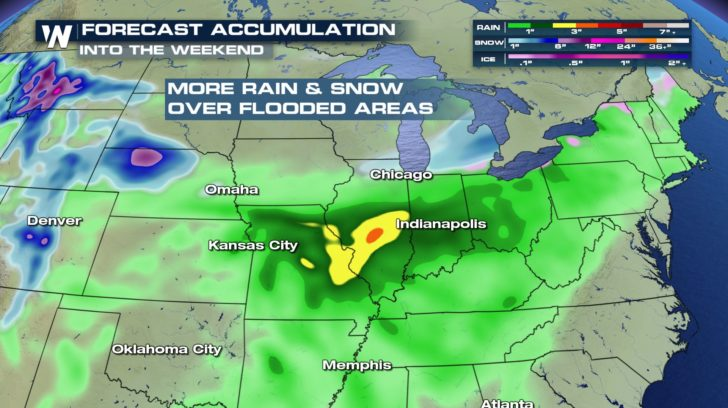 Late Week Storm Could Bring Rain, Snow, & Severe Storms