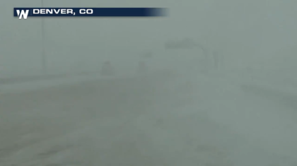 Blizzard in the Great Plains