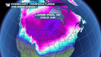 Another Cold Blast for the US