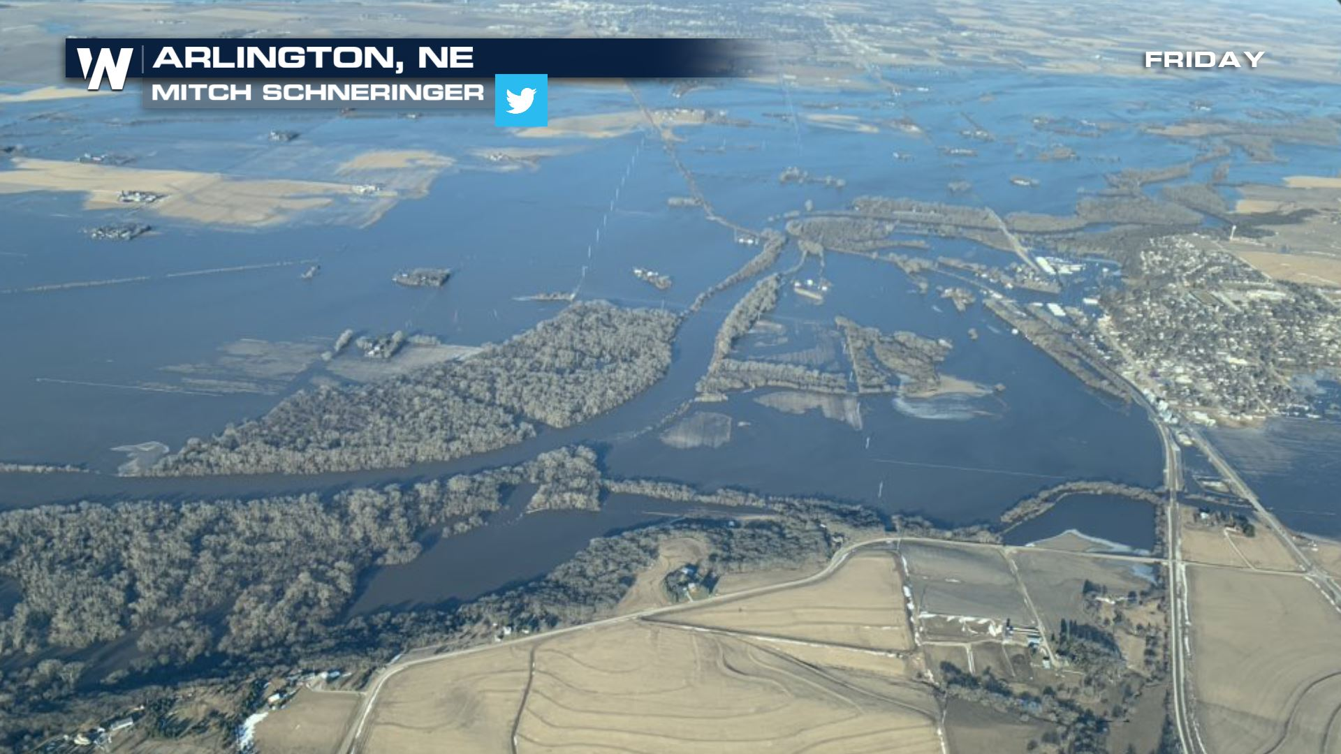 Extensive Flooding Continues in Nebraska - WeatherNation