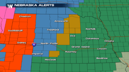 Wide Range of Wild Weather for the Plains