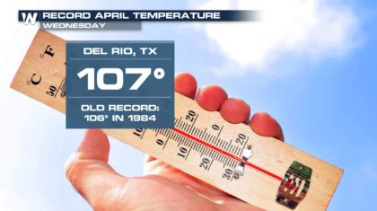 Texas City Reaches Hottest April Temperature