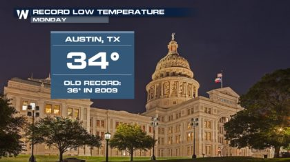 Everything's Colder in Texas ?