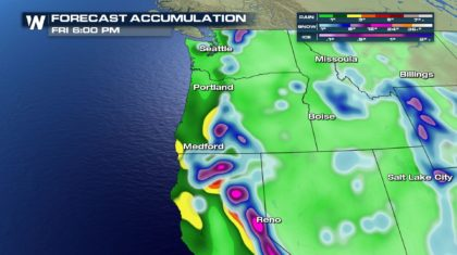 Heavy Precipitation for the Northwest This Week