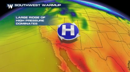 Desert Heat Returning to Southwest