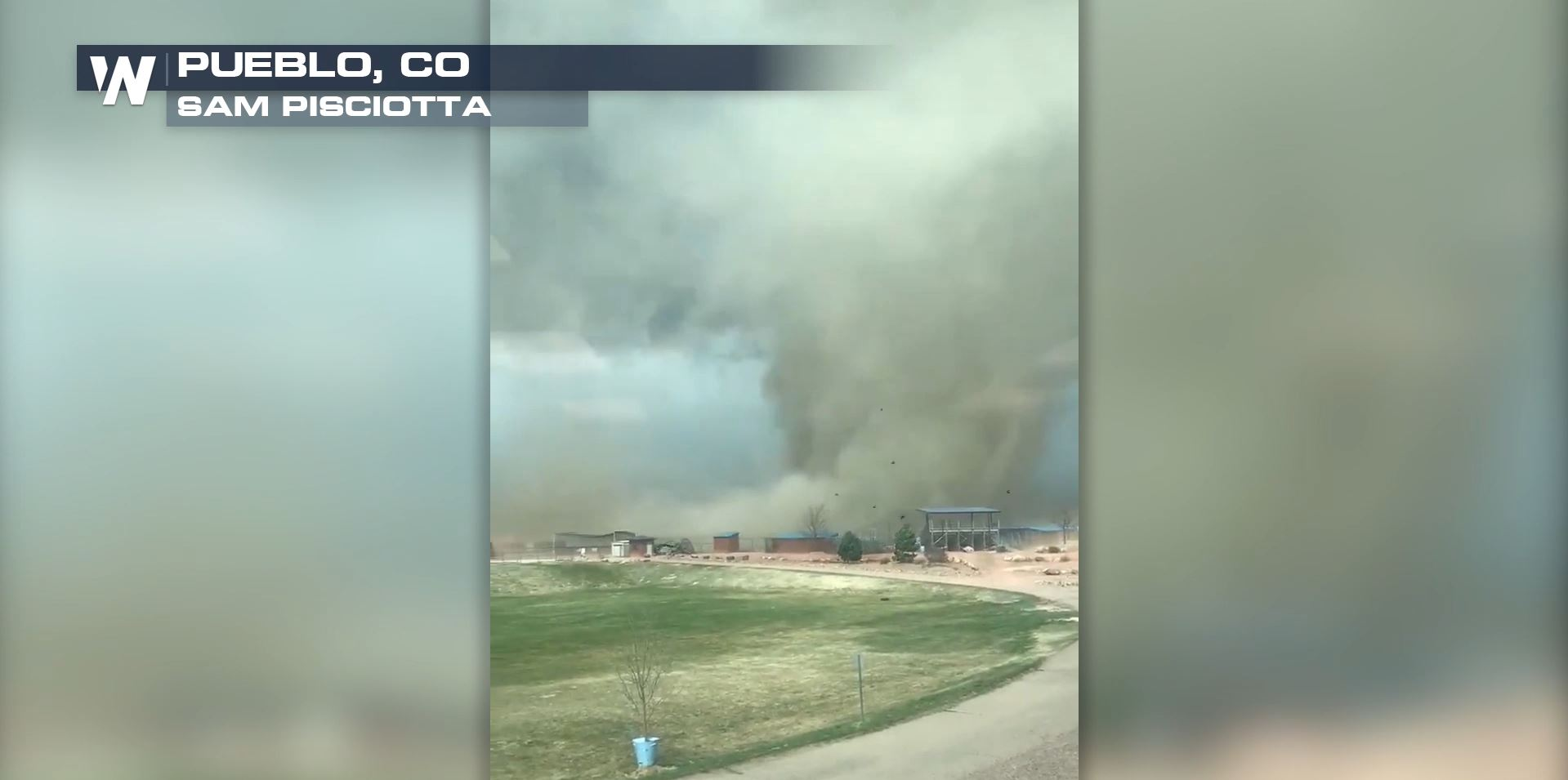 Shocking Video of Gustnado Spinning Through High School Campus