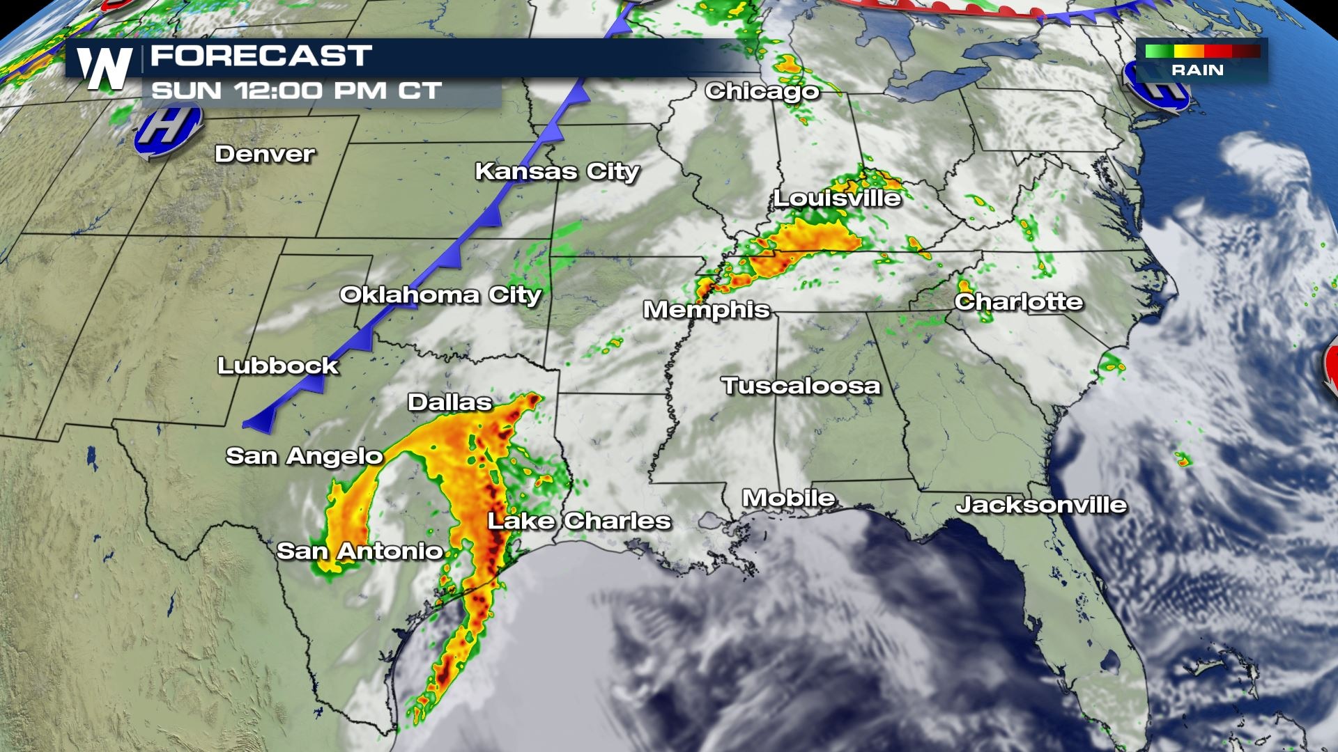 Severe Thunderstorms Threaten Millions This Weekend