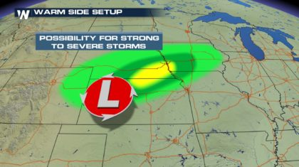 Midweek Storm: Severe Threat