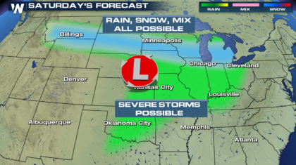 Plains Severe Weather Threat This Weekend into early Next Week
