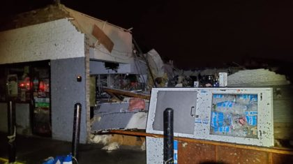 Significant Tornado Damage in Dayton Ohio