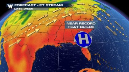 Robust Pattern Brings Record Heat & Snowy Weather