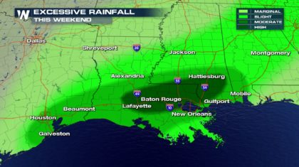 NEW: High Risk of Life-Threatening Flooding Saturday