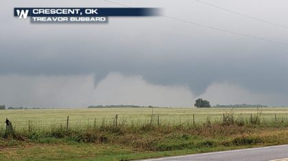 A Look at Monday's Tornadoes in the Southern Plains
