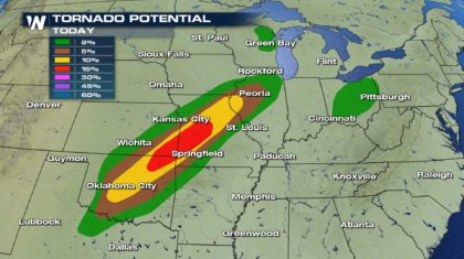 More Severe Storms for the Plains Wednesday