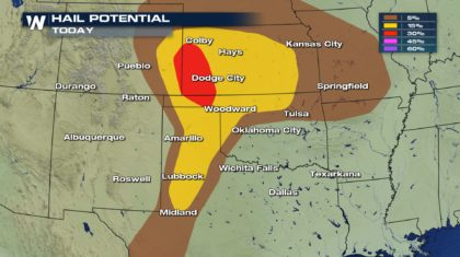Severe Storms for the Southern and Central High Plains Friday