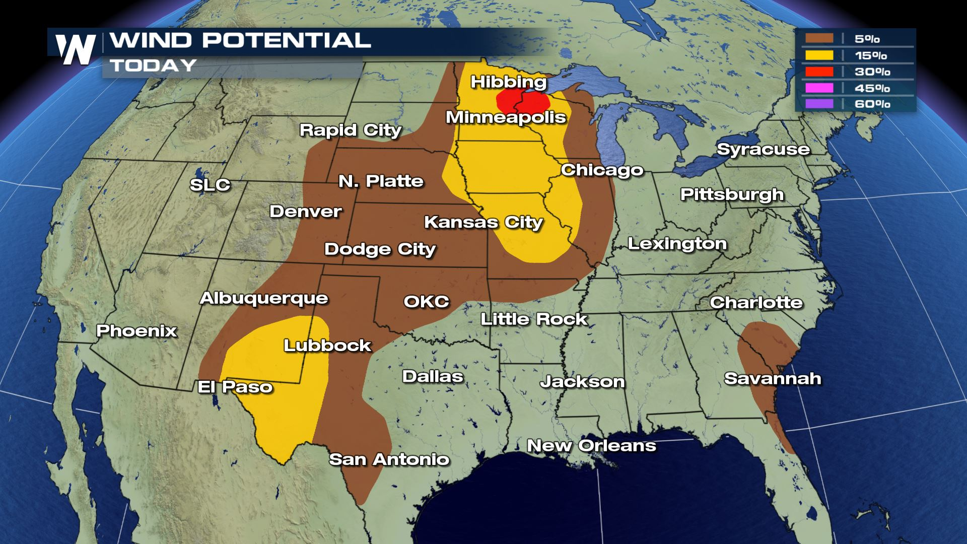 Numerous States Under A Severe Risk Tuesday - WeatherNation
