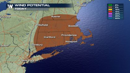 Isolated Severe Storms for the Northeast Sunday