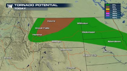 Tornadoes in the Forecast for Montana Thursday