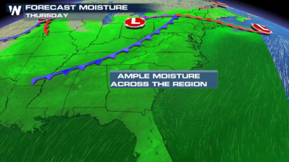 More Heavy Rain For The Ohio Valley and Northeast