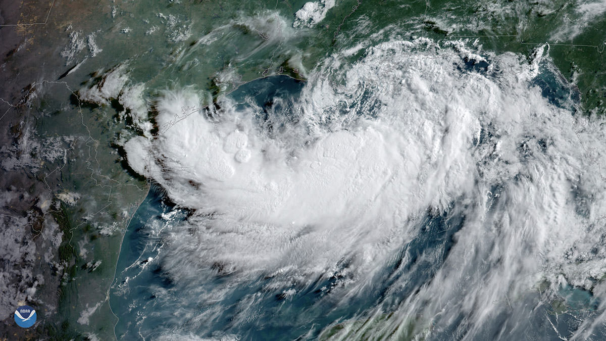 Hurricane Barry Aerial Damage Imagery