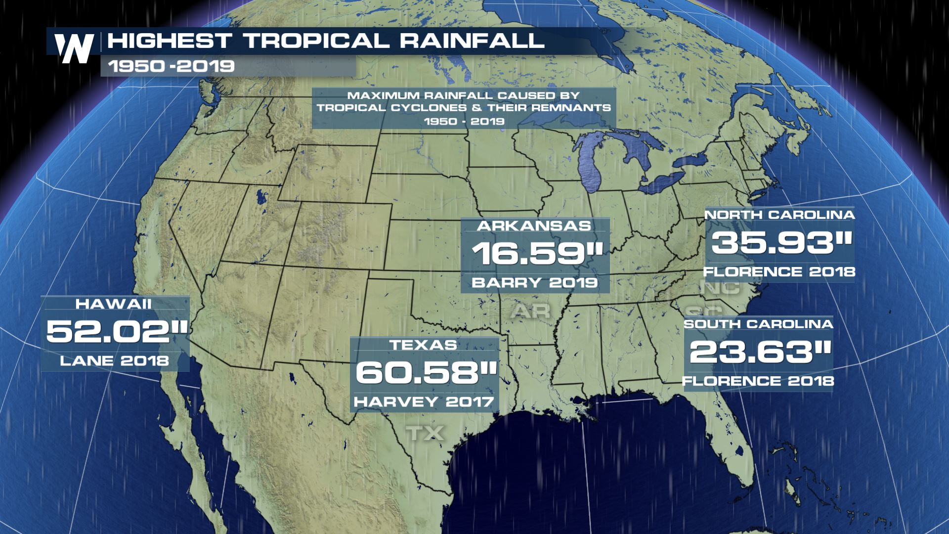 Arkansas: 5th State Since 2017 to Get Record Tropical Rain ... on usa map, ohio map, arkansas county map printable, alabama state map, arkansas ozarks map, arkansas statehood, arkansas physical map, arkansas road map, cities in arkansas map, arkansas resource map, united states state map, arkansas flag, arkansas river, missouri map, arkansas bordering states, delware state map, arkansas map with cities, arizona state map, auburn university map, okla state map,